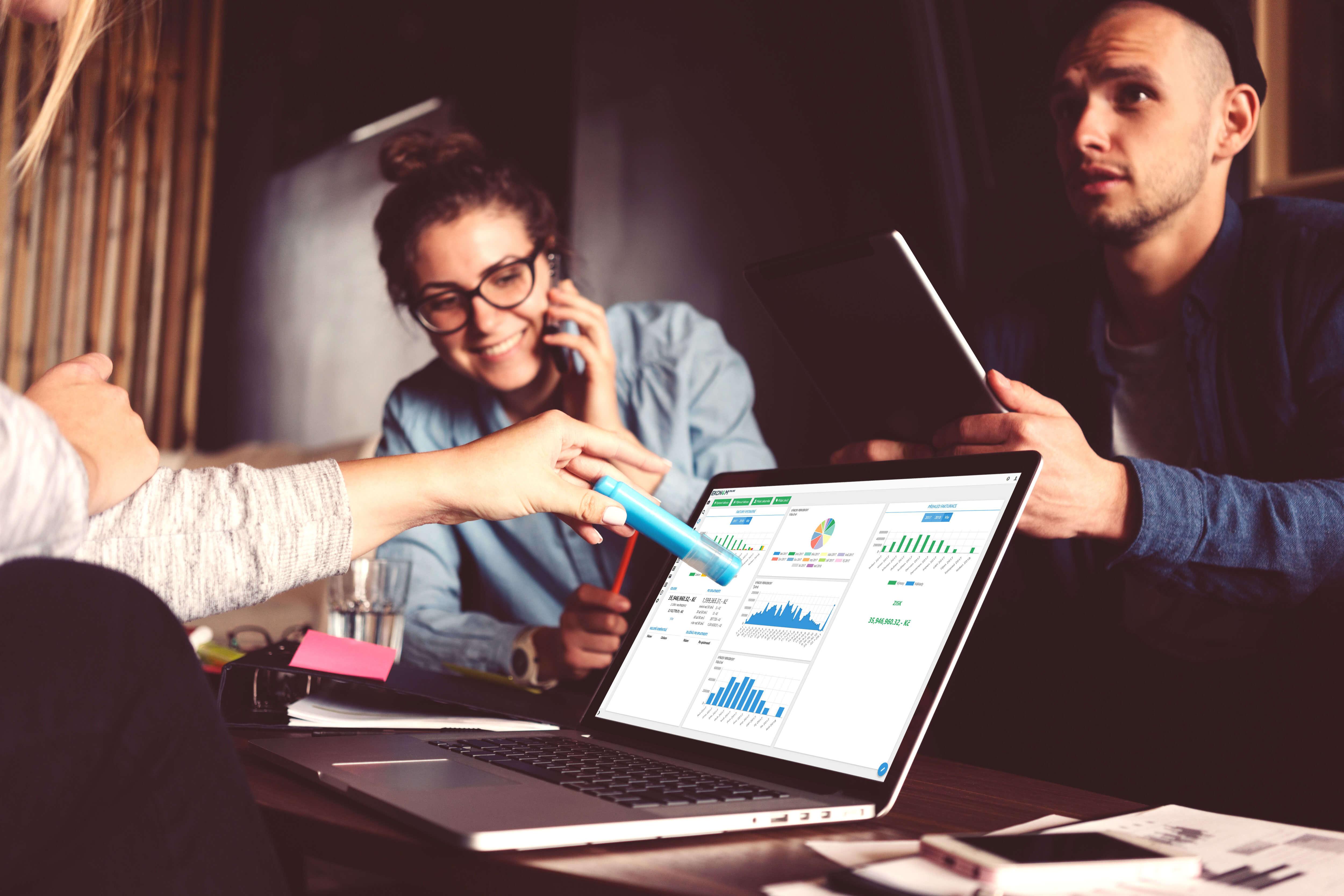 Fakturujte Efektivne Pomoci Online Fakturace Ekonom Online